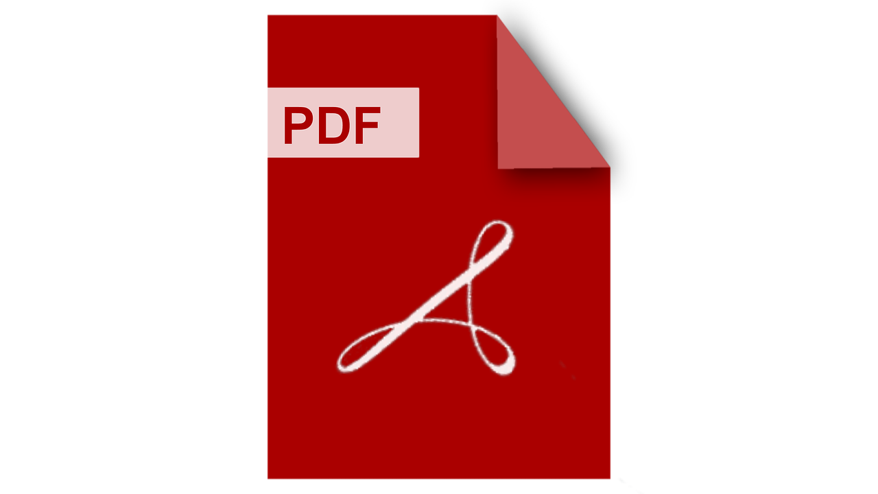 Pdf Logo Adobe Filetype Mime Type  - vowblog_official / Pixabay